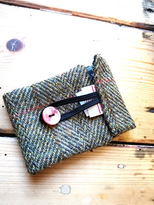 Harris tweed mug warmer