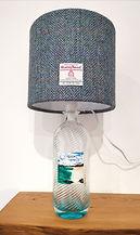 Harris gin bottle lamp