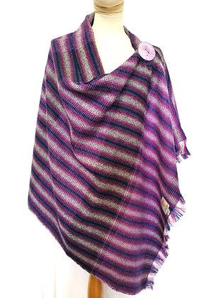 Harris tweed shawl