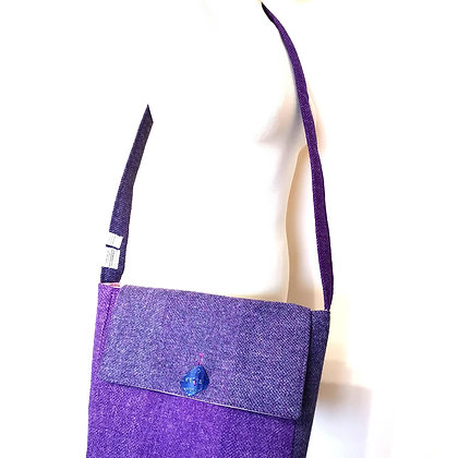 RESERVED FOR MANDY Harris tweed shoulder bag