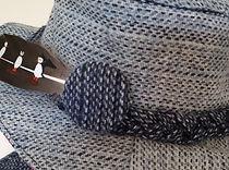 harris tweed button