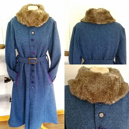 Bespoke Harris Tweed Coat