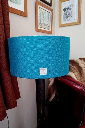 Extra large harris tweed lampshade