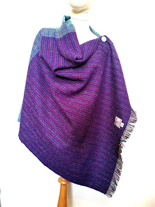Harris tweed shawl
