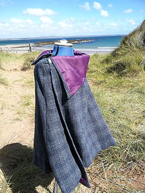 harris tweed cloak