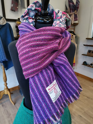 Extra wide short wrap scarf