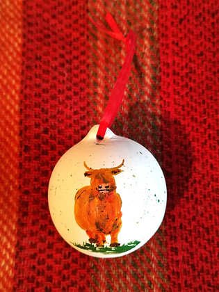 Handpainted Christmas Bauble