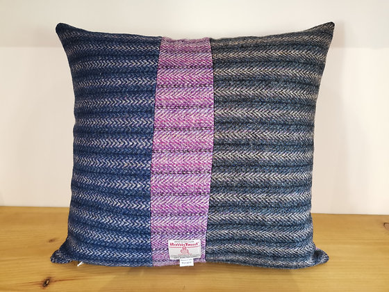 Harris tweed cushion cover
