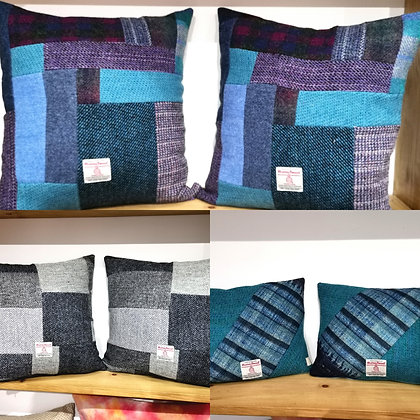Bespoke Harris Tweed Cushion Covers