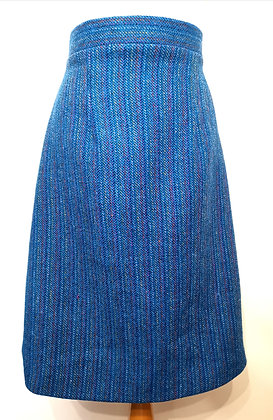 Harris tweed pencil skirt