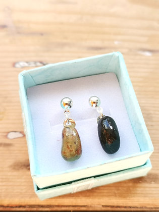 Lewisian Gneiss Stud Earrings