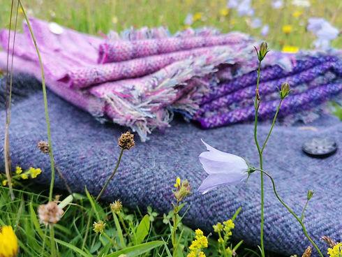 harris tweed shawls