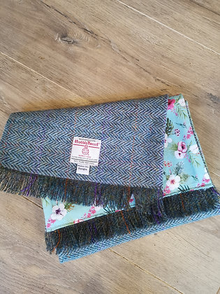Simple Harris Tweed Scarf