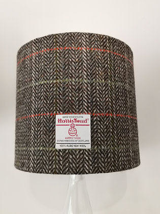 Harris tweed lampshade