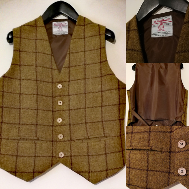 made to measure waiscoat