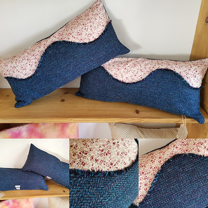 Pair of Harris Tweed Cushions