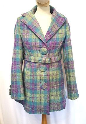 Harris tweed ladies coat