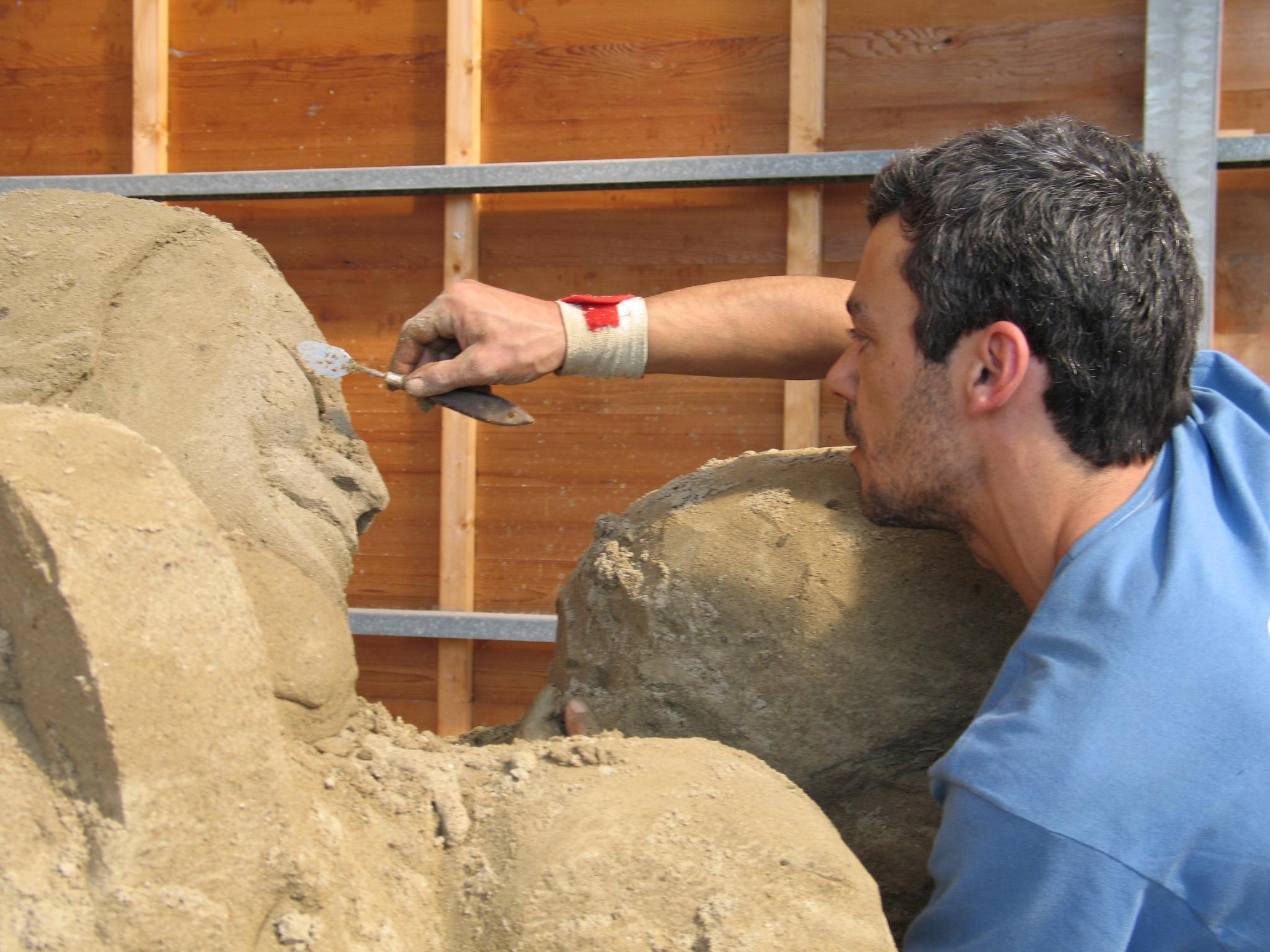 a esculpir