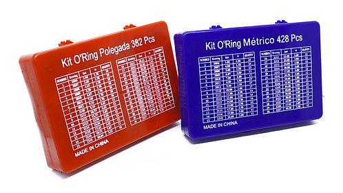 Kit Anel Oring - Polegada + Milimetro - 4 Caixa