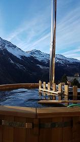 val d'hérens, suisse, évolène, villaz, b&b, bain suédois, montagnes, dent blanche, veisivi, nature