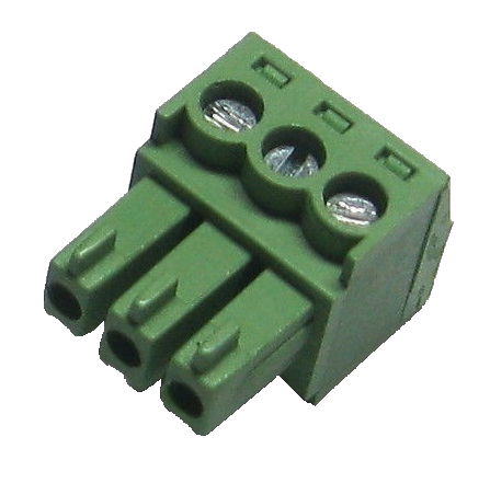 Green Screw Terminal Blocks 3.5mm 3Pin 5pc