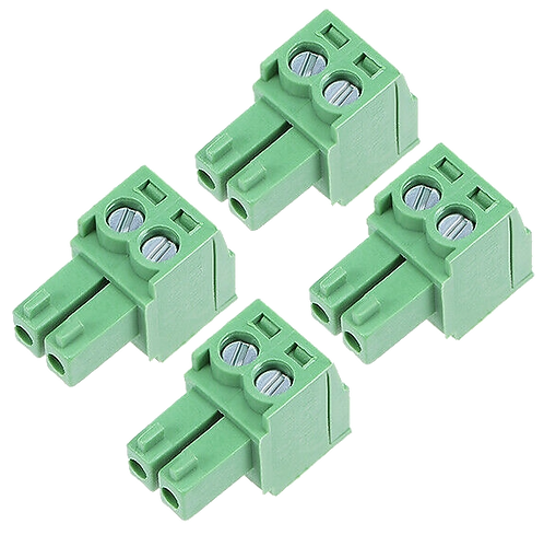 Green Screw Terminal Blocks 3.5mm 2P