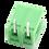 Thumbnail: Green Screw Terminal Socket 5.08mm 2P