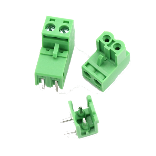 Green Screw Terminal Socket 5.08mm 2P