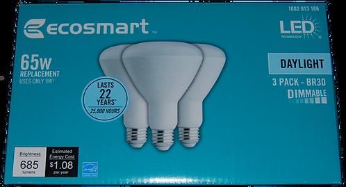 LED Flood Light 3PK (dimmable)