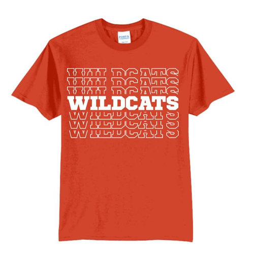 Wildcats School Spirit Tee