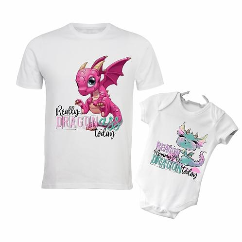 Dragon Ass Mommy & Me Set