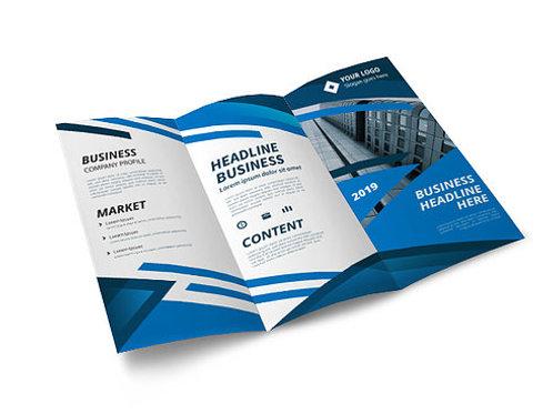 Full Color Brochures Quantity 500)