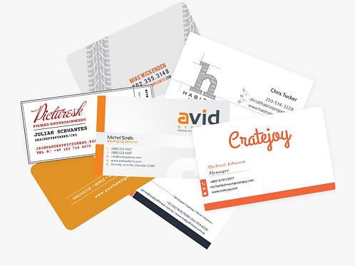 Business Cards (Quantity 100)