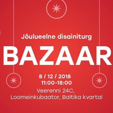 Jõulueelne disainiturg BAZAAR