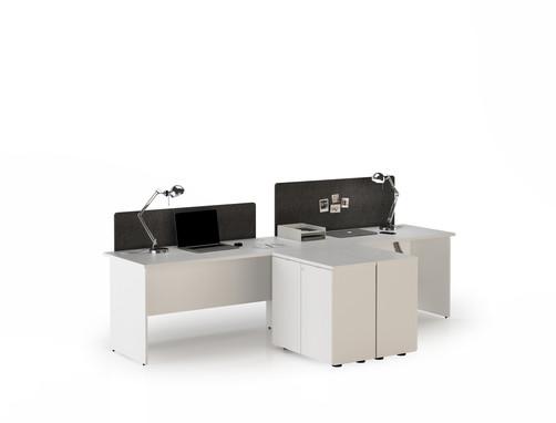 Kayu II Series Side Workstation
