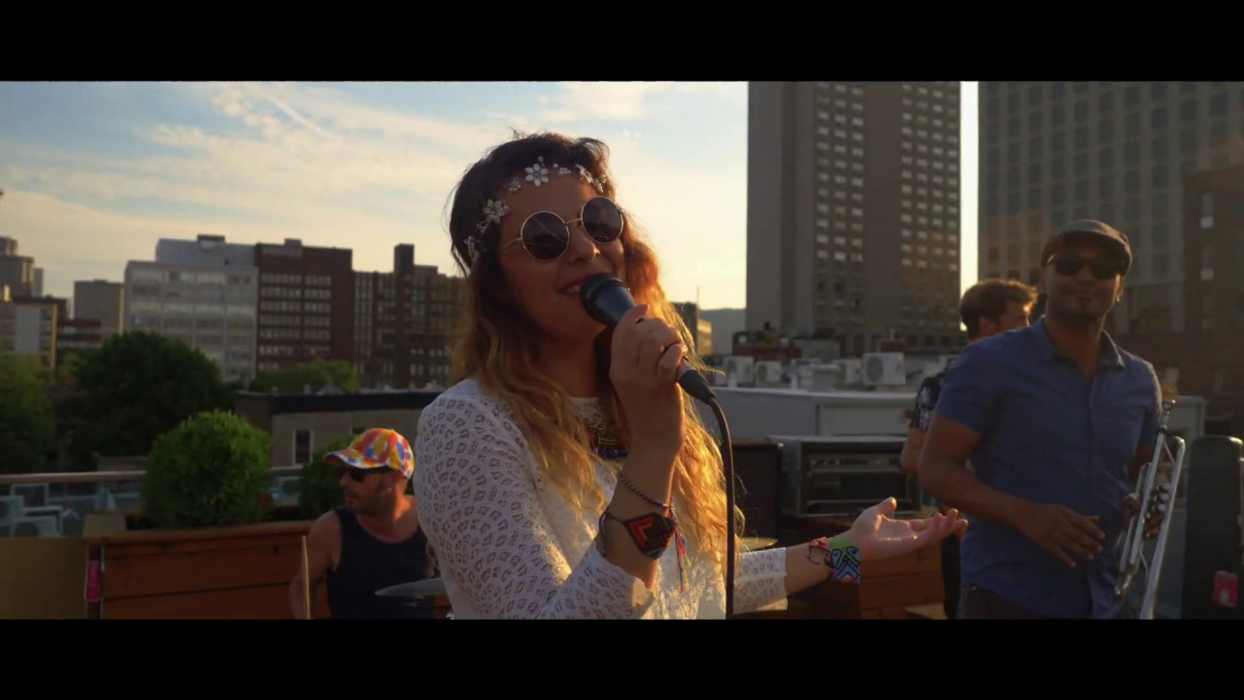 Rooftop live session - Montréal, Canada