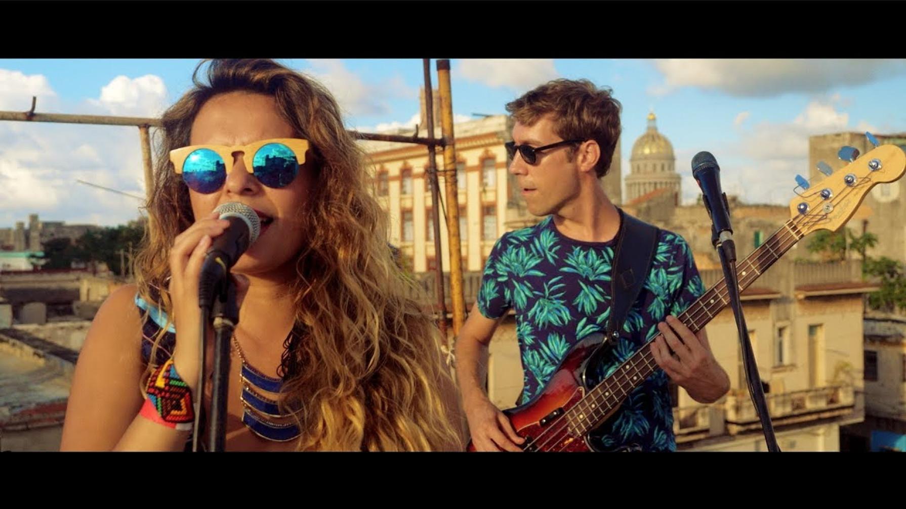 Rooftop live session - La Havane, Cuba