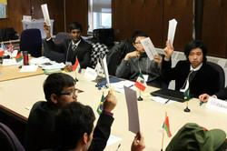 Top+ students at Toronto MUN.