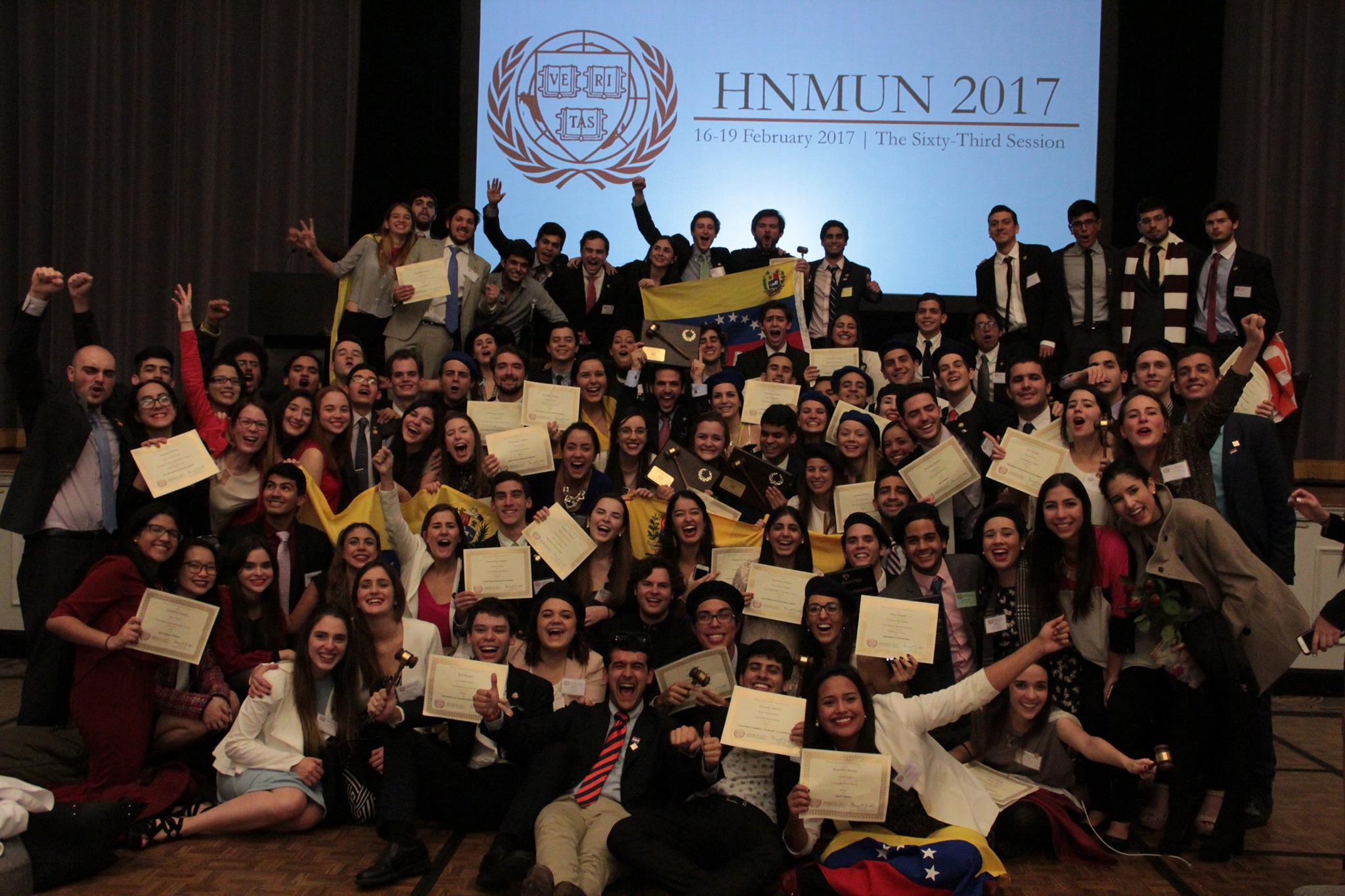 Top+ students at Harvard MUN.