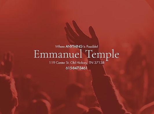 Emmanuel Temple Nashville
