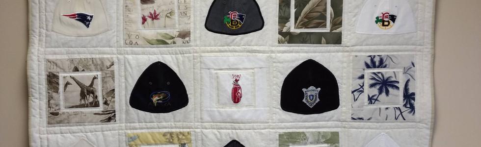Baseball Hat Quilt