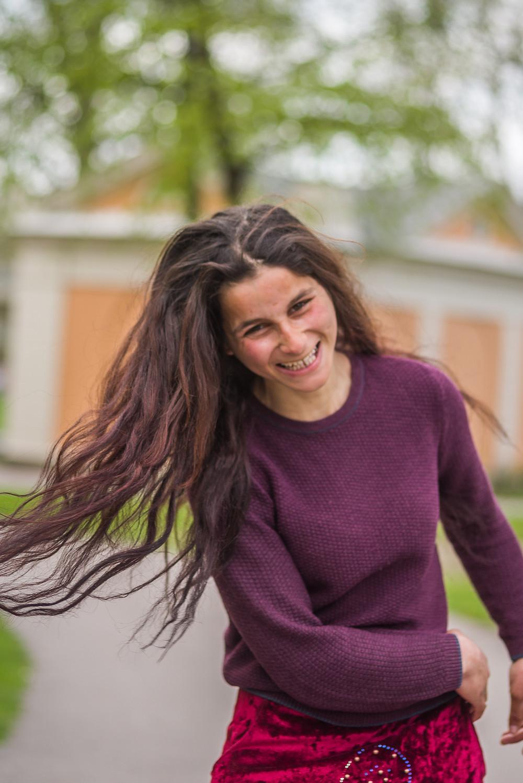 26-åriga Marieta har fyra döttrar; Luminita, Denisa, Cadana, Ildis