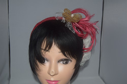 Alice band bridesmaid hairpiece