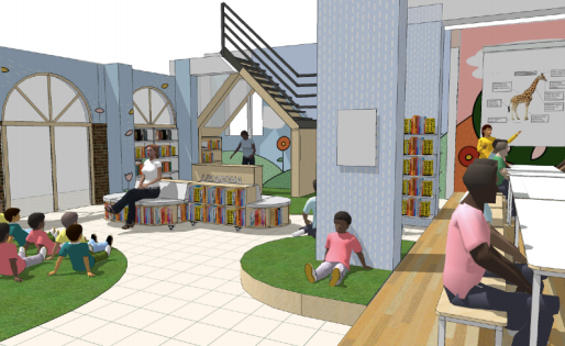 Rebuilding the Liyabona Library