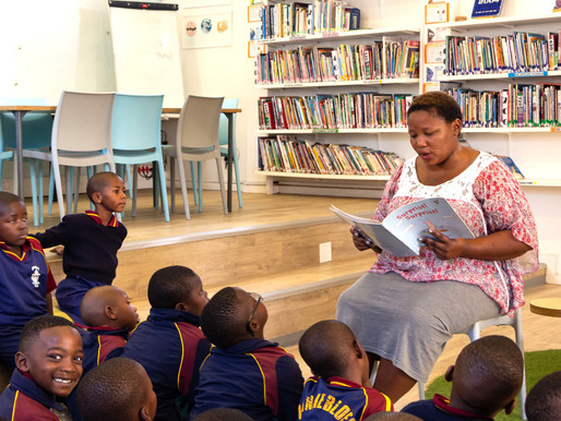Zonnebloem library features in PEN SA Newsletter