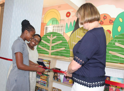 Holy Cross opens doors to new library
