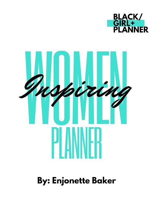 Printable DATELESS Women Inspiring Planner