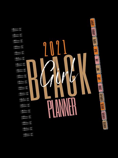 2021/Undated Black Girl Planner