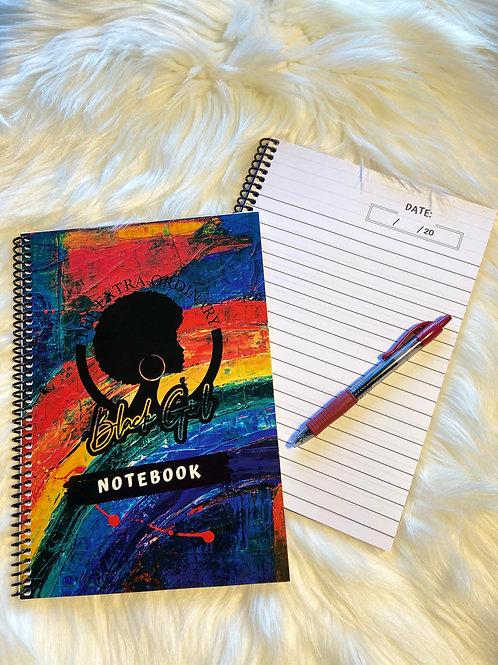 The Extra Ordinary Black Girl Notebook