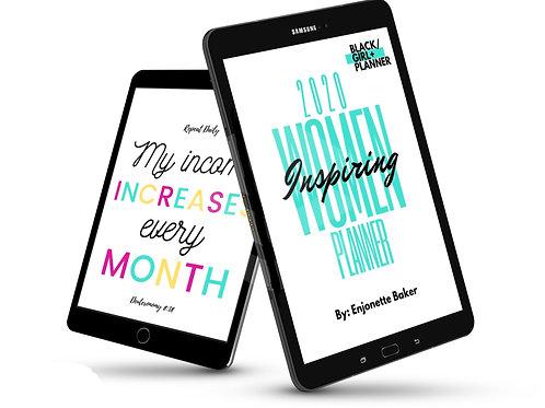 Printable 2020 Women Inspiring Planner